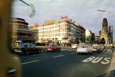 Blick auf das Café Kranzler und die Gedächtniskirche, 1963