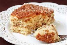 Apple Sour Cream Coffee Cake