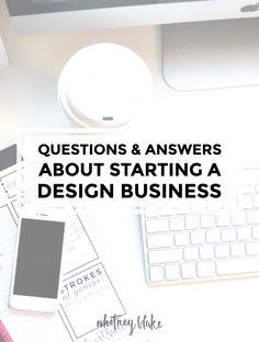 Questions and Answers about starting a graphic design business