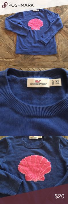Vineyard Vines sweater Worn once. Adorable! Cotton. Size 5-6 Vineyard Vines Shirts & Tops Sweaters