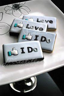 #Facebook #Wedding #Cookies