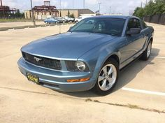 This 2007 Ford Mustang V6 Deluxe is listed on Carsforsale.com for $5,995 in Stafford, TX. This vehicle includes Airbag Deactivation - Occupant Sensing Passenger, Antenna Type - Mast, Anti-Theft System - Engine Immobilizer, Auxiliary Audio Input - Mp3, Center Console - Front Console With Storage, Child Seat Anchors, Clock, Cruise Control, Cupholders - Front, Driver Seat Manual Adjustments - 6, Driver Seat Manual Adjustments - Height, Emergency Interior Trunk Release, Floor Mat Material…