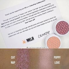 "I still have my Puppy Love but Cat Nap is more my style. Repost from @spencesbeautydepot @TopRankRepost #TopRankRepost Being an animal lover this warms my heart.  Being a makeup junkie BRING ON THE NEWNESSSS  'Cat Nip' is gorgeous! #Repost @lipdrama  @ColourPopCosmetics PUPPY LOVE returns with new shade CAT NIP to help raise money for the @BestFriendsAnimalSociety ""the only national organization dedicated to ending the killing of dogs and cats America's shelters"".  No word on the release…"