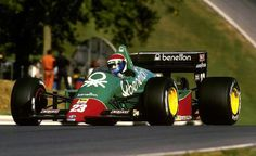 Eddie Cheever - Alfa - Brands Hatch