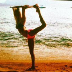 whitney diederich  #scorpion #dance #cheer #beach