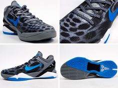 Kobe 7 Cheetah (Blue & Grey)...just got these shoes they're so cool!