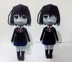 Paperized: Another : Mei Misaki Papercraft