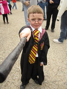 Harry Potter costume - cutest Harry Potter EVER!