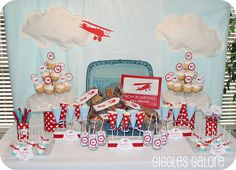 For the pilot or future pilot in your life! @Jackie Davis, perfect idea for Drew's next birthday party :)
