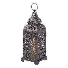Filigree Candle Lantern