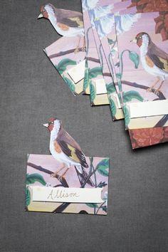 Place cards..a Nathalie Lete collaboration.