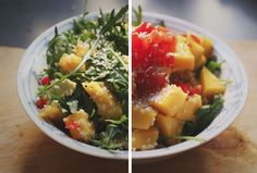 happyfoodstories: Mango & Avocadosalat med quinoa