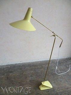 Exklusive-Hexenhut-Stehlampe-VITTORIANO-VIGANO-Lampe-Italy-50er-50s-Lamp-60er