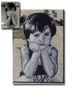 Order Customized Mosaics from Pictures and Logos in Toronto