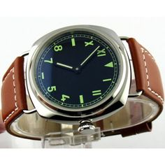 New watch from Parnis: Parnis 45mm Black... Check it out here! http://parniswatches.net/products/parnis-45mm-black-california-dial-watch-mechanical-movement-6497