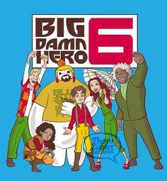 Thom Zahler Art Studios » Big Damn Hero Six