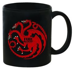 Dark Horse Deluxe Game of Thrones 11 oz. Coffee Mug Targaryen by Dark Horse Deluxe. $12.99. From the Manufacturer                Dark Horse is proud to announce a new line of licensed products based on HBO's award winning television series Game of Thrones, which is adapted from the best-selling epic fantasy book series A Song of Ice and Fire by George R. R. Martin. Follow us to the vast world of Westeros, where the kingdom's seven noble families vie for control of the Iro...