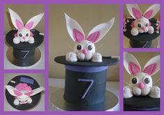 Magician's bunny hat