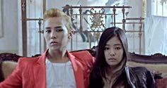 G-Dragon With Jennie Kim