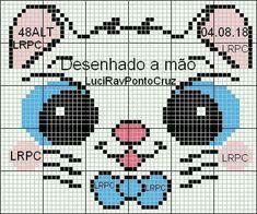 Cat Cross Stitches, Cross Stitch Charts, Cross Stitch Patterns, Knitting Patterns, Sewing Patterns, Crochet Patterns, Paper Towel Roll Crafts, Kids Nightwear, Charts And Graphs