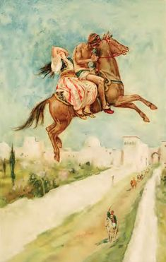 The enchanted horse - Arabian Nights -- Walter Page, 1863-1935