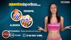 Pronóstico para el Espanyol vs. Almería #ligaBBVA