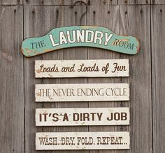 Laundry sign decor funny laundry sign laundry room decor cute laundry room signs laundry sign home decor Laundry Humor, Laundry Room Signs, Laundry Closet, Laundry Room Organization, Laundry Rooms, Laundry Area, Small Laundry, Laundry Funny, Laundry Quotes