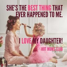 A mom's love for her daughter