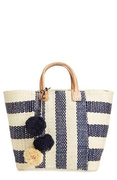 Mar+y+Sol+'Collins'+Woven+Tote+available+at+#Nordstrom