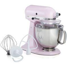Crate U0026 Barrel Kitchenaid ® Pink Stand Mixer (1,315 SAR) ❤ Liked On Polyvore