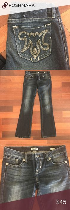 NWOT The Buckle MEK Chicago Boot Cut The Buckle MEK Chicago Boot Cut Waist 27, Length 34 in perfect condition! NEW Without Tags! You will love them! Please check out my other listings! Please review photos and ask questions prior to purchasing. Thank you! MEK Jeans Boot Cut