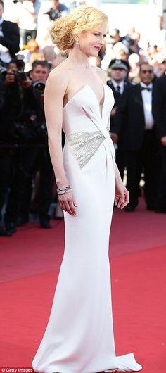Nicole Kidman in Giorgio Armani, Cannes Festival