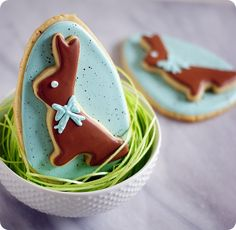 Double Decker Bunny Cookies Instructions  at Bake @ 350. Gorgeous