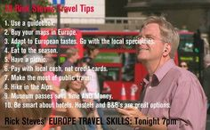 Rick Steves' tips
