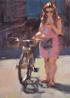"Daily Paintworks - ""Sun-kissed"" - Original Fine Art for Sale - © Carol Marine Fine Art, Impressionist Art, Figure Painting, Marine Paint, Marine Art, Carole, Impressionist Paintings, Marine Painting, Figurative Artists"
