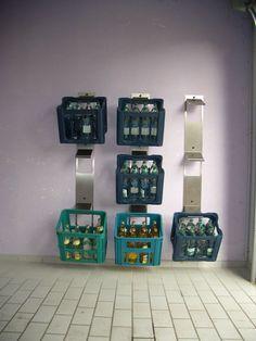 Getränkekisten Regal Selber Bauen getränkekisten regal aus fichtenholz für 6 kisten polartraum