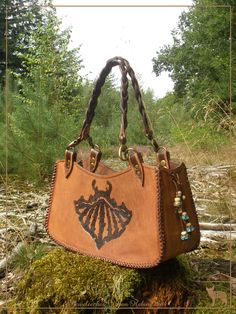 Jeweleeches Vivian Hebing handmade leather handbag with of course my own design!