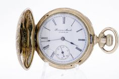 14K Gold Engraved Pocket Watch with by timekeepersinclayton