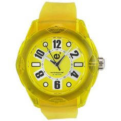 Tendence Women's 2013043 Rainbow Hi-Tech Polycarbonate Yellow Watch Tendence. Save 62 Off!. $44.99