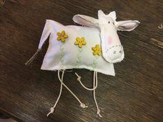 Vache en tissu