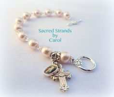 Bracelet - Catholic Rosary bracelet for Communion or Confirmation or just because