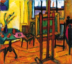 #BÉLA_CZÓBEL  *   Iskolát nem alapított, Post Impressionism, Museum, Expressionism, Paintings, Interiors, Art, Style, Fall Living Room, Exhibitions