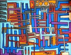 Planche originale de bande dessinée : TAREK - Divers - Peinture originale par TAREK sans titre 4 -