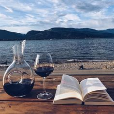Beach + Good Book + Wine = Life. Chill this Monday evening. #RODwine #rodwineco #winelife