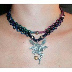 Psysub Handmade Hemp Jewelry Shop - Iridescent Dark Rainbow and ...