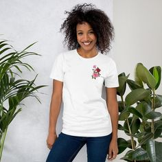 Produkty podobne do Shut the full cup coffee barista Short-Sleeve Unisex T-Shirt w Etsy T Shirt Swag, Merica Shirt, Shirt Men, T Shirt Vegan, Beau T-shirt, Unique Style, Foster Mom, Delta Sigma Theta, Delta Sorority