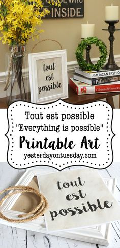 French Printable Art