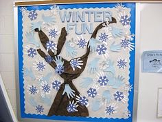 Winter Bulletin Boards!