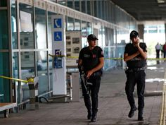 The three suicide bombers who killed more than 40 people in an attack on Istanbul's main airport were all from parts of the former USSR. Officials gave the men's nationalities as Russian, Uzbek and Kyrgyz on Thursday after police detained 13 people, including three foreigners, in raids across Istanbul.