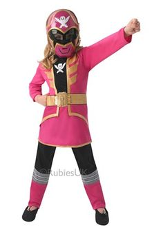 Pink Super Mega Force Power Ranger Costume